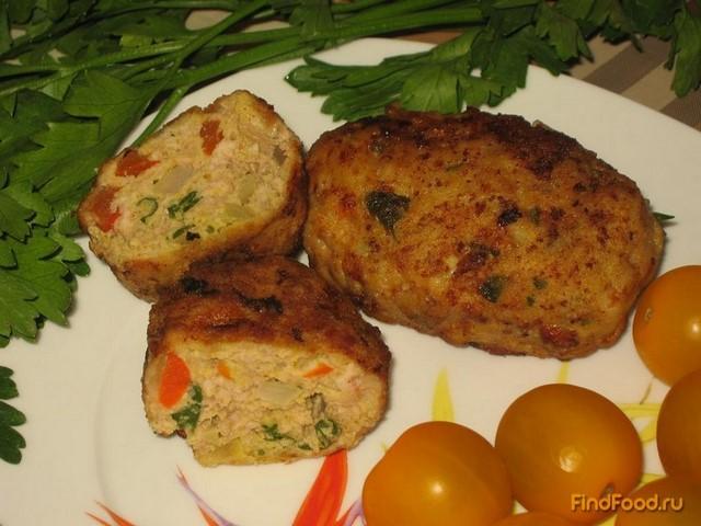 Рецепт котлет мясных с добавлением капусты