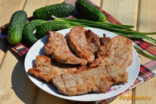 Рецепт шашлыка стейки из свинины