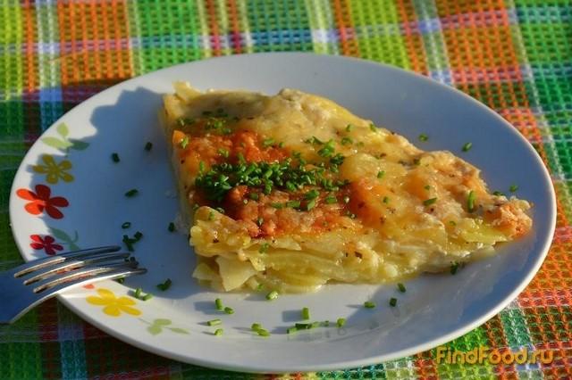 Рецепт Картофельный гратен в микроволновке рецепт с фото