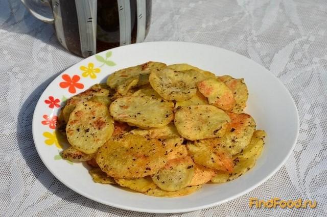 Рецепт Картофельные чипсы в микроволновке рецепт с фото