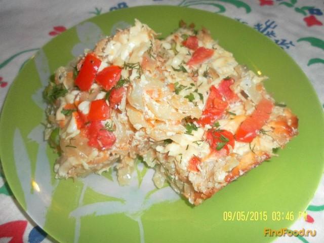 Рецепт Запеканка с белокочанной капустой рецепт с фото