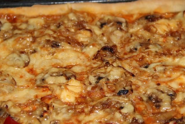 Рецепт Грибная пицца Контадина рецепт с фото
