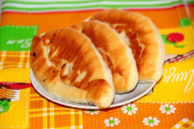 Рецепт Жареные пирожки с картошкой рецепт с фото