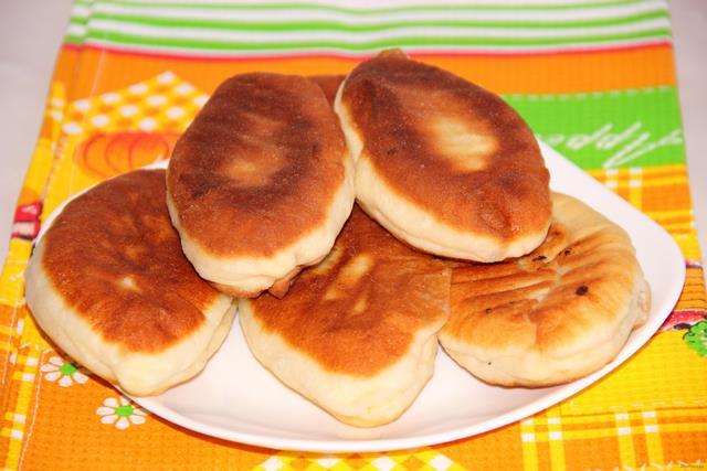 Рецепт Жареные пирожки с капустой рецепт с фото