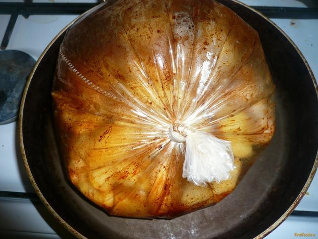 Запеченные куриные крылья с картошкой рецепт с фото 10-го шага