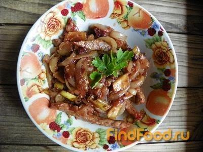 Рецепт Мясо по-азиатски рецепт с фото