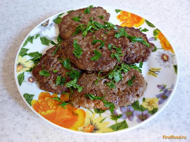 Рецепт Котлеты из куриной печени рецепт с фото