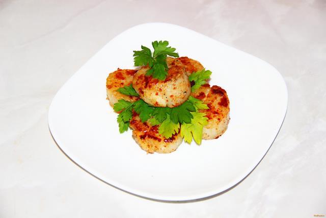 Рецепт Морские гребешки жареные рецепт с фото