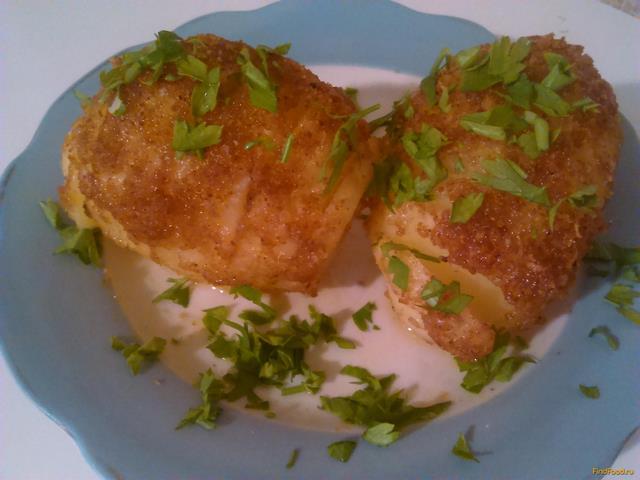 Рецепт Картошка как гармошка рецепт с фото