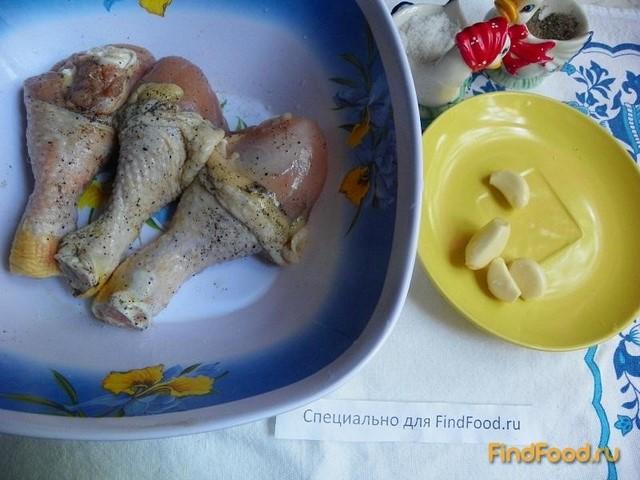 рецепт приготовления куриных голеней в тесте