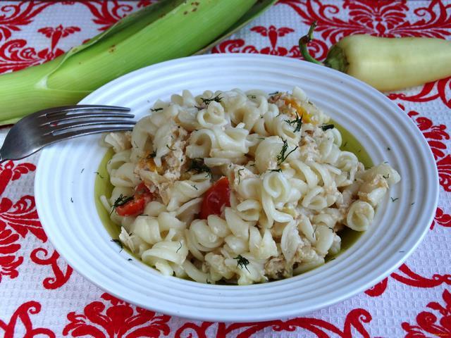 Рецепт Макароны с курицей и помидорами черри рецепт с фото