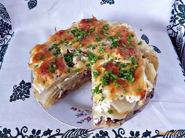 Рецепт Запеканка из картофеля с грибами рецепт с фото