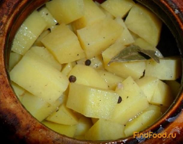 Как сделать картошку в горшочке