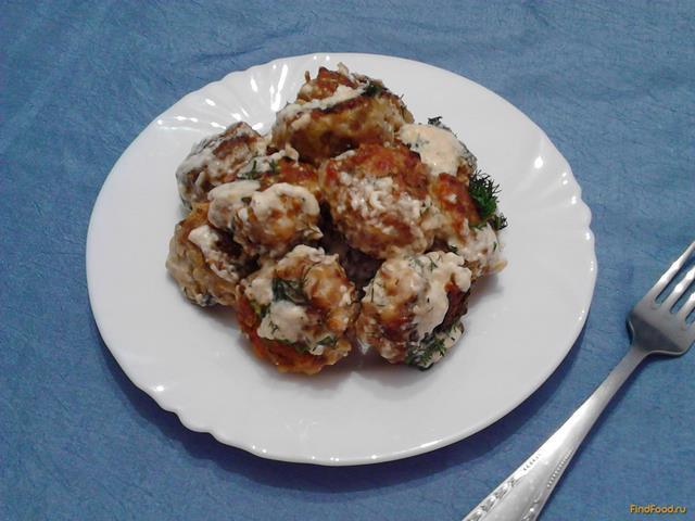 Рецепт Гречаники в сырном соусе с укропом рецепт с фото