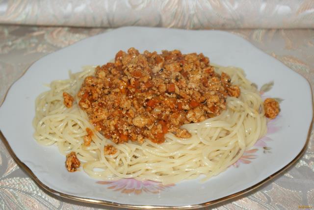 Рецепт Мясной соус к пасте рецепт с фото