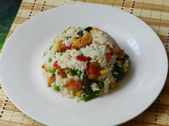 рис с мексиканской смесью рецепт с фото пошагово