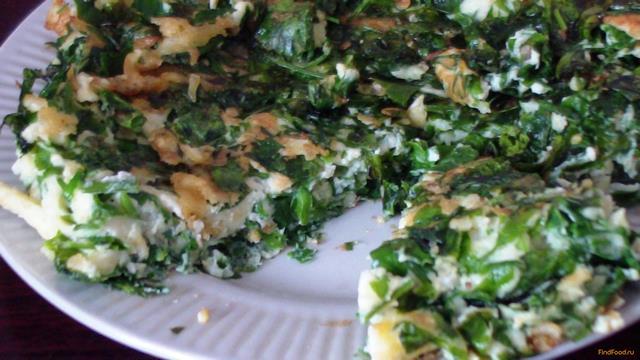 Рецепт Зеленый пирог рецепт с фото
