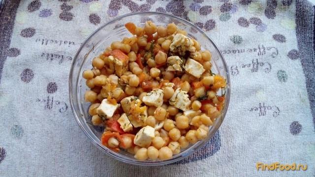 Рецепт Тушеный нут с помидорами и тофу рецепт с фото