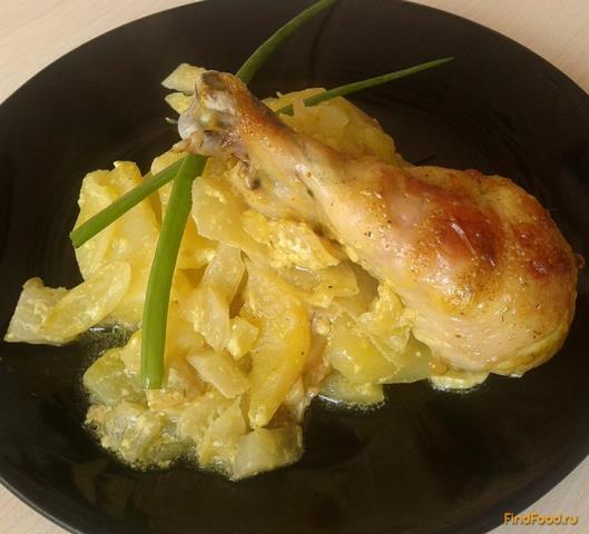 Рецепт Овощное жаркое с курицей рецепт с фото