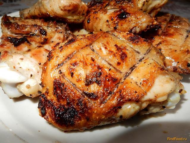 курица гриль в духовке с картошкой рецепты с фото