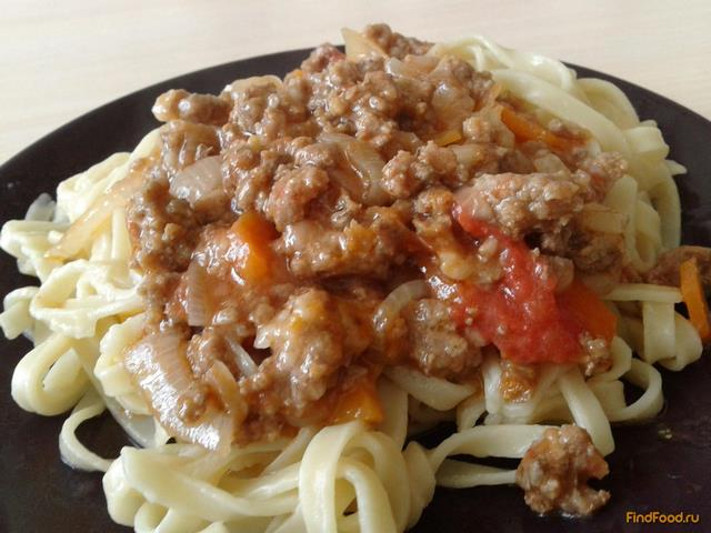 Рецепт Подлива с овощами и фаршем рецепт с фото