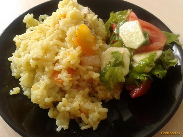 Рецепт Плов с окорочками и овощами рецепт с фото