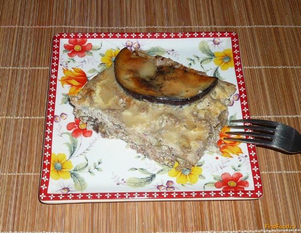 Рецепт Запеканка из баклажанов и кабачков с фаршем рецепт с фото