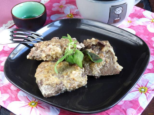 Печеночные отбивные рецепт с пошагово