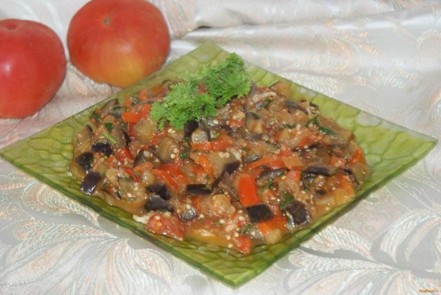 Рецепт Грузинское овощное рагу рецепт с фото