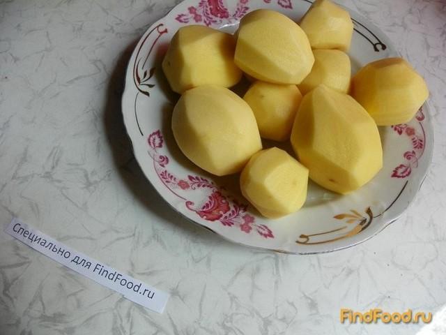 Картофель запеченный с яблоками и пряными травами рецепт с фото 1-го шага