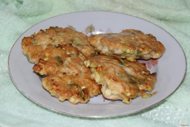 Рецепт Рубленые куриные котлеты с кабачком рецепт с фото