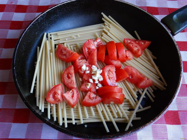 Как приготовить спагетти с приправой