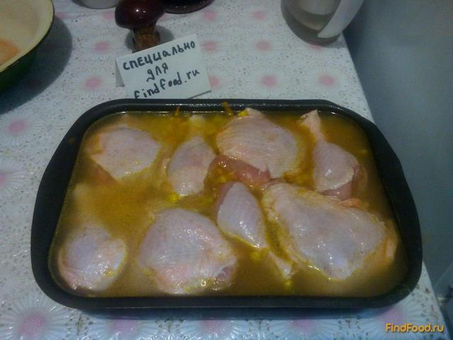 рецепт приготовления куриных бедрышек с овощами в духовке