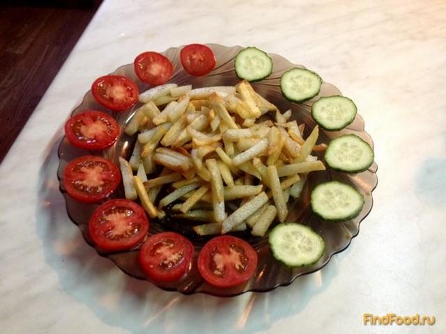 Рецепт Жареная картошка с хрустящей корочкой рецепт с фото