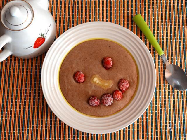 манная каша шоколадная рецепт