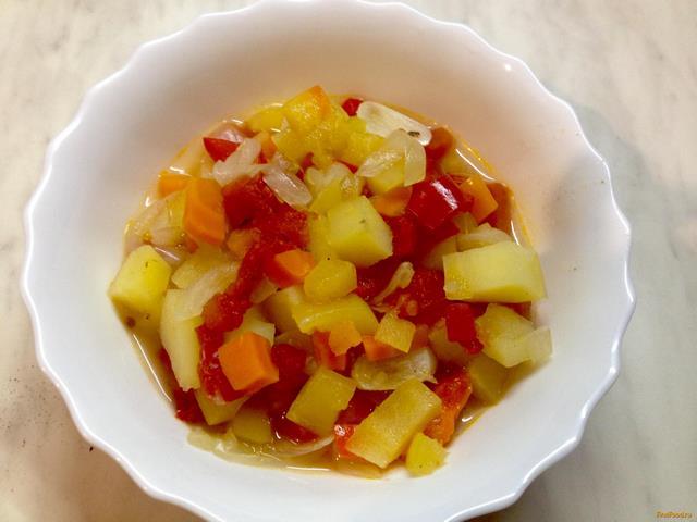 Рецепт Овощное рагу в горшочке рецепт с фото