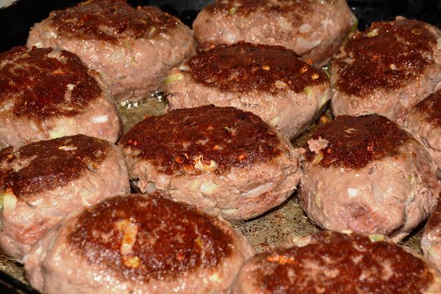 котлеты из фарша свинины на сковороде рецепт с фото