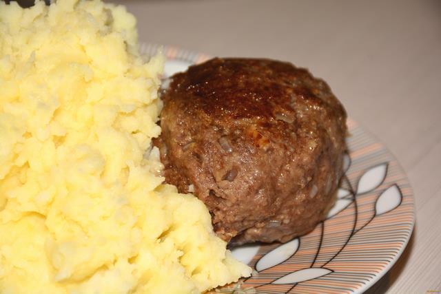Рецепт Котлеты из свинины и говядины рецепт с фото