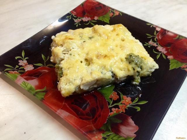 Рецепт Запеканка с цветной капустой и брокколи рецепт с фото