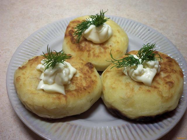 Рецепт Картофельные зразы с курицей рецепт с фото