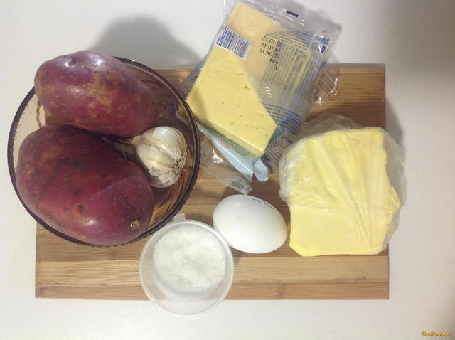 картофельное пюре с сыром в духовке рецепт