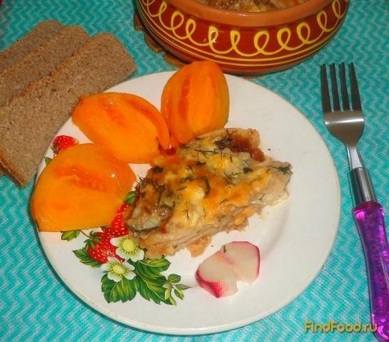 Рецепт Запеканка из рыбы и крекера рецепт с фото