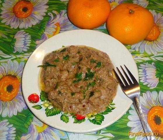 Рецепт Мясо в ореховом соусе рецепт с фото
