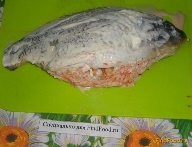 рецепт запекания карпа духовке