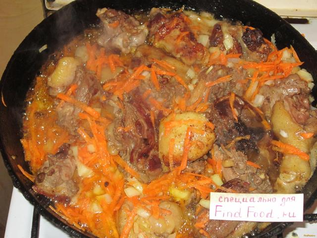 Пошаговый рецепт приготовления рагу