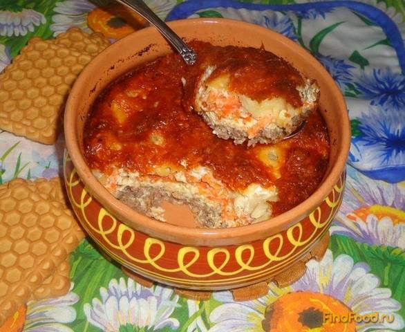 блюда из фарша и овощей в духовке рецепты