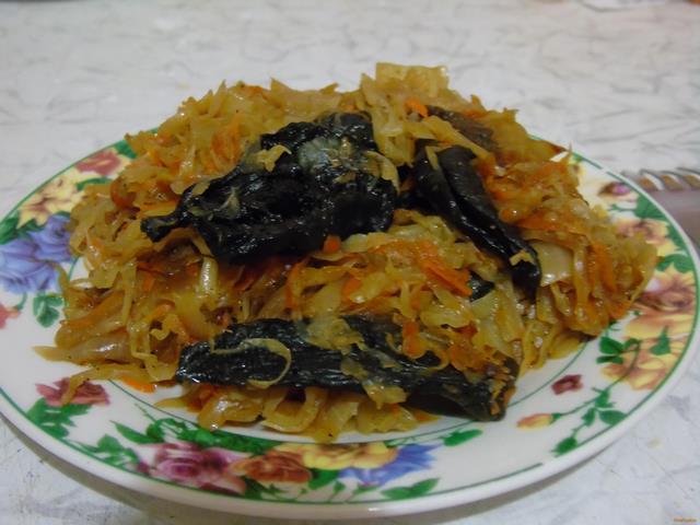 Блюда из капусты и фаршаы с фото