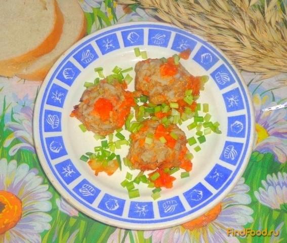 тефтели с рисом рецепт приготовления с фото