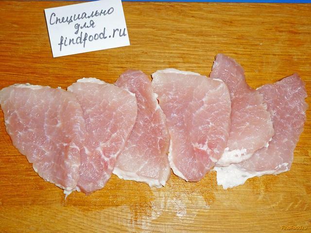 рецепт свиных отбивных в духовке с ананасами и