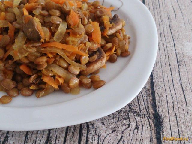 чечевица с грибами рецепты приготовления с фото